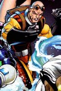 Peter Petruski (Earth-616) as Trapster from Fantastic Four Vol 1 549 cover