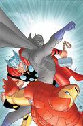 Marvel Universe Avengers - Earth's Mightiest Heroes Vol 1 2 Textless