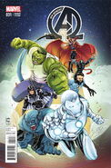 New Avengers Vol 3 31 Women of Marvel Variant