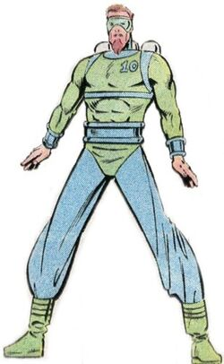 Alvin Healey (Earth-616) from Official Handbook of the Marvel Universe Vol 2 3 0001