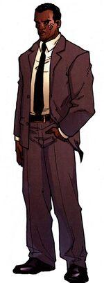 Derek Khanata (Earth-616) from Official Handbook of the Marvel Universe A-Z Update Vol 1 2 001