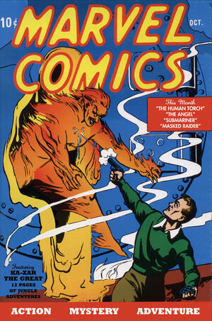 Marvel Comics Vol 1 1
