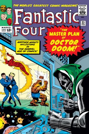 Fantastic Four Vol 1 23