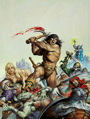Savage Sword of Conan Vol 1 16 Textless