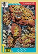 Benjamin Grimm (Earth-616) from Marvel Universe Cards Series II 0001