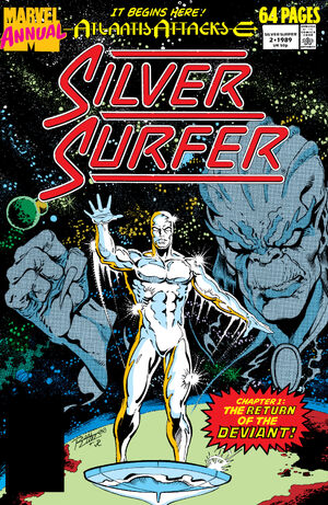 Silver Surfer Annual Vol 1 2