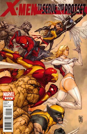 X-Men To Serve and Protect Vol 1 2