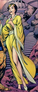 Alicia Masters (Earth-71166) from Fantastic Four The End Vol 1 2 0001
