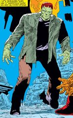 Frankenstein's Monster (Battleworld) (Earth-616) from Fantastic Four Vol 1 274