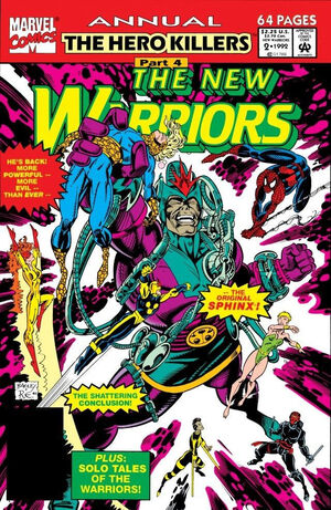 New Warriors Annual Vol 1 2