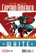 Captain America White Vol 1 1 Sale Variant
