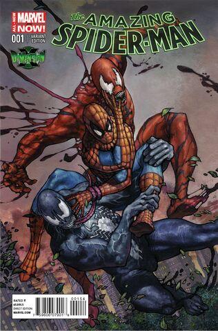 File:Amazing Spider-Man Vol 3 1 Dimension-X Exclusive Variant.jpg