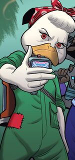 Linda the Duck (Earth-616) from Howard the Duck Vol 6 1 001