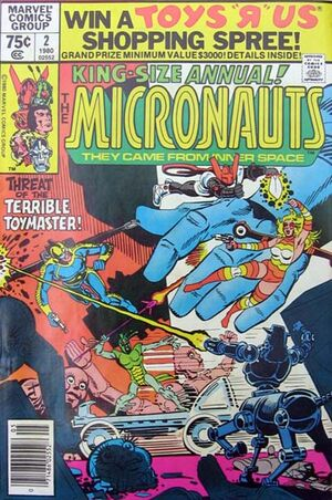 Micronauts Annual Vol 1 2