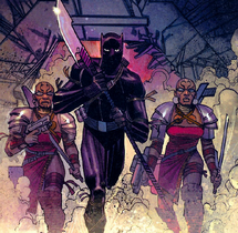 S'Yan and Dora Milaje (Earth-616) from Black Panther Vol 4 6 0001