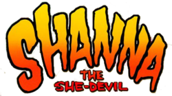 Shanna the She-Devil logo