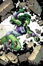 She-Hulk Vol 3 1 Stegman Variant Textless