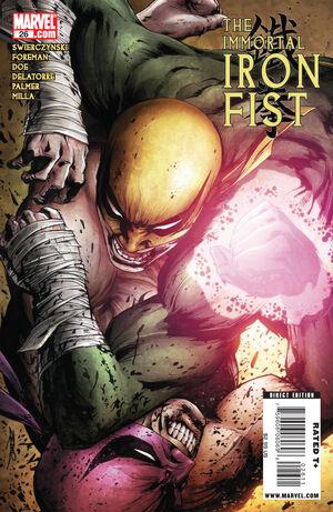 Immortal Iron Fist Vol 1 26