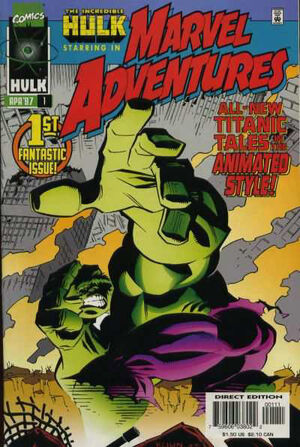 Marvel Adventures Vol 1 1
