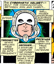 Ant-Man's Helmet from Tales to Astonish Vol 1 35 0001