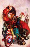 New Avengers Vol 3 33 Harris Variant Textless