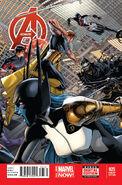 Avengers Vol 5 25 Weaver Variant
