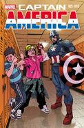 Captain America Vol 7 25 Anti-Bullying Variant