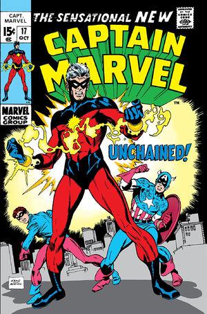 Captain Marvel Vol 1 17