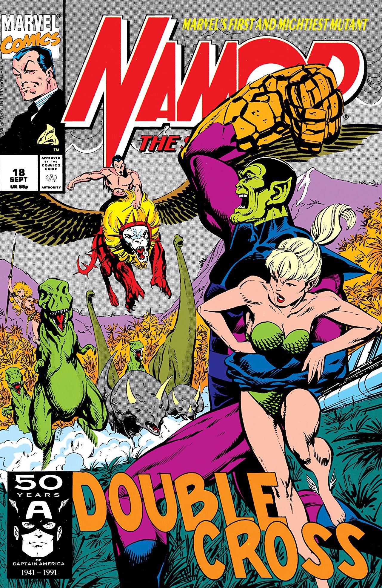 Namor the Sub-Mariner Vol 1 18