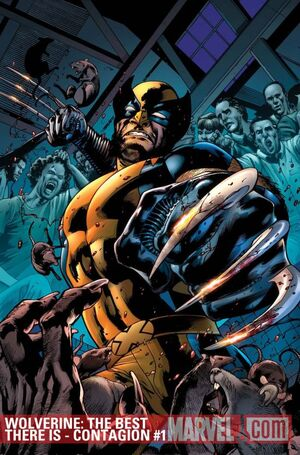 Wolverine The Best There Is - Contagion Vol 1 1 Textless