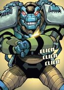 Ines Harper (Chronosaurus Rex) (Earth-616) from Amazing Spider-Man & Silk- The Spider(fly) Effect Infinite Comic Vol 1 1 001