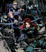 Secret Avengers (S.H.I.E.L.D.) (Earth-616) from Secret Avengers Vol 2 1 cover