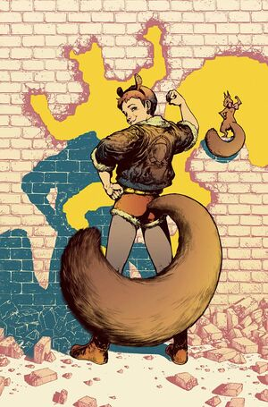 Unbeatable Squirrel Girl Vol 2 6 Women of Power Variant Textless