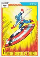 Captain America Shield from Marvel Universe Cards Series II 0001