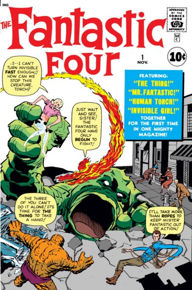 Image result for fantastic four 1