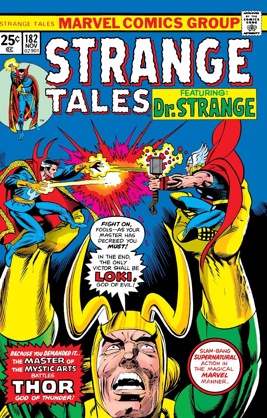 Image result for strange tales 182