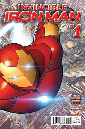 Invincible Iron Man Vol 3 1