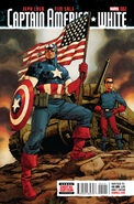 Captain America White Vol 1 2 Johnson Variant