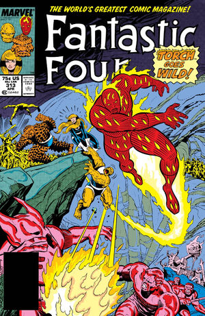 Fantastic Four Vol 1 313