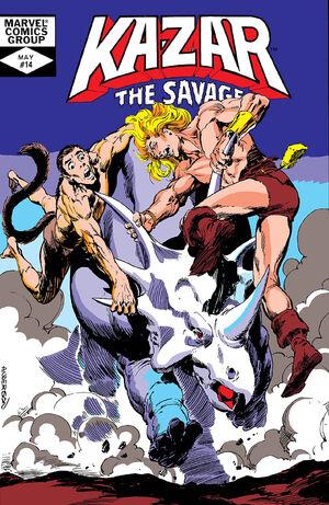 Ka-Zar the Savage Vol 1 14