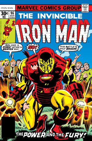 Iron Man Vol 1 96