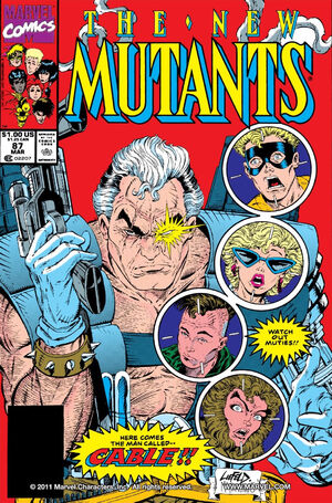 New Mutants Vol 1 87