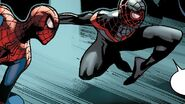 Peter Parker (Earth-616) and Miles Morales (Earth-1610) from Amazing Spider-Man Vol 3 10 001