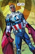 Samuel Wilson (Earth-616) from Captain America Vol 7 25 001
