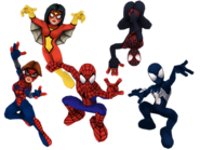 Spider Friends (Earth-91119) from Marvel Super Hero Squad Online 001
