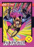 Yuriko Oyama (Earth-616) from 1992 Impel X-Men (Trading Cards) 0001