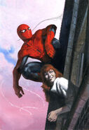 Amazing Spider-Man Renew Your Vows Vol 1 4 Dell'Otto Variant Textless