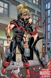 Ms. Marvel Vol 2 16 page - Carol Danvers & Simon Williams (Earth-616)
