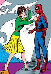 Peter Parker (Earth-616) hated by Betty Brant from Amazing Spider-Man Vol 1 11