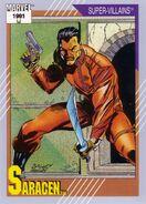 Muzzafar Lambert (Earth-616) from Marvel Universe Cards Series II 0001